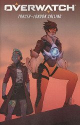 Dark Horse Comics's Overwatch: Tracer-London Calling Issue # 4b