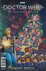 Titan Comics's Doctor Who: 13th Doctor - Holiday Special Issue # 2lcsd