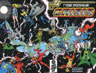 DC Comics's Crisis on Infinite Earths Issue # 1