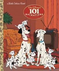 Golden Books 's 101 Dalmatians Hard Cover # 1b