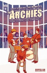 Archie Comics Group's The Archies Issue # 4monkees.com