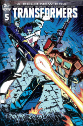 IDW Publishing's Transformers Issue # 5ri