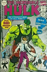 Marvel Comics's Incredible Hulk Issue # 393-2nd print
