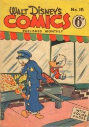 W.G.(Wogan)Publications's Walt Disney's Comics Issue # 16