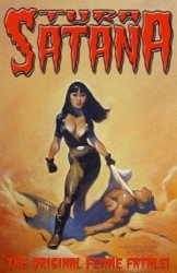 Antimatter/Hoffman International's Tura Satana Issue # 1b