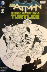 DC Comics's Batman / Teenage Mutant Ninja Turtles Issue # 1planet comics-b