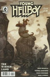 Dark Horse Comics's Young Hellboy: Hidden Land Issue # 3b