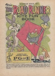 Western Printing Co.'s Beep Beep, the Road Runner: Kite Fun Book Issue # 1971pg&e