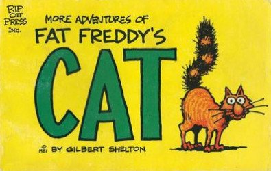 Rip Off Press's Adventures of Fat Freddy's Cat Soft Cover # 2