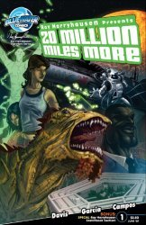 Bluewater Productions's Ray Harryhausen Presents: 20 Million Miles More Issue # 1b