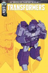 IDW Publishing's Transformers Issue # 17b