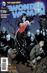 DC Comics's Wonder Woman Issue # 35b