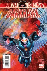 Marvel Comics's War of Kings: Darkhawk Issue # 1