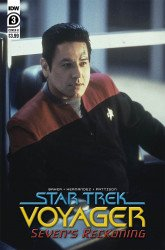 IDW Publishing's Star Trek Voyager: Seven's Reckoning Issue # 3b
