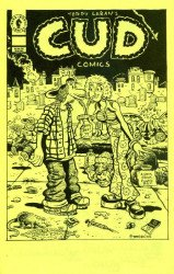 Dark Horse Comics's Cud Comics Issue ashcan-yellow