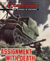 D.C. Thomson & Co.'s Commando: War Stories in Pictures Issue # 1074