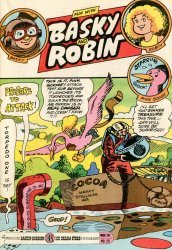 3-D Cosmic Publications's Fun with Basky and Robin Issue # 25