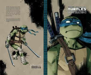 IDW Publishing's Teenage Mutant Ninja Turtles: IDW Collection Hard Cover # 3