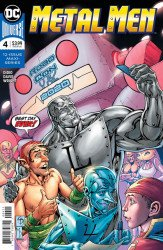 DC Comics's Metal Men Issue # 4