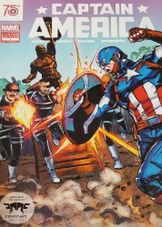 Marvel Comics's Captain America: Comicave Custom Edition Issue # 1