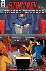 IDW Publishing's Star Trek vs Transformers Issue # 4b