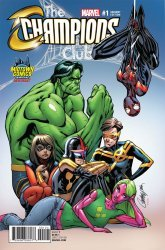 Marvel's Champions Issue # 1midtown