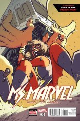 Marvel's Ms. Marvel Issue # 4