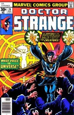 Dr strange comic book 1
