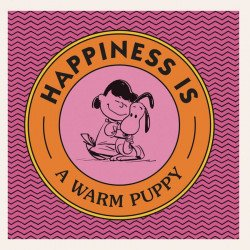 Penguin Books's Peanuts: Happiness Is A Warm Puppy Hard Cover # 1