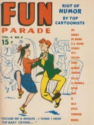 Harvey Publications's Army and Navy Fun Parade Issue V4-9