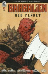 Dark Horse Comics's Barbalien: Red Planet Issue # 3