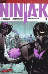 Valiant Entertainment's Ninja-K Issue # 1nycc