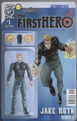 Action Lab Entertainment's The F1rst Hero: Wednesday's Child Issue # 1b