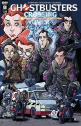 IDW Publishing's Ghostbusters: Crossing Over Issue # 8b