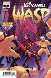 Marvel Comics's Unstoppable Wasp Issue # 9