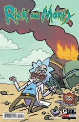 Oni Press's Rick and Morty Issue # 50bec