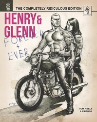 Microcosm Publishing's Henry & Glenn: Forever & Ever Hard Cover # 1