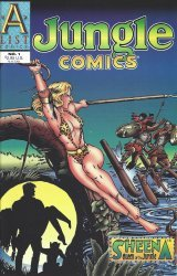 A List Comics's Jungle Comics Issue # 1