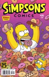 Bongo Comics's Simpsons Comics Issue # 215