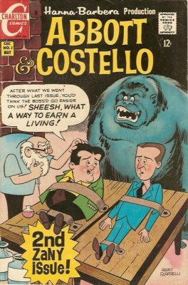 Abbott And Costello Issue 1 Charlton Comics