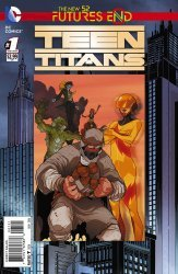 DC Comics's Teen Titans: Futures End Issue # 1b