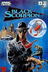 Diamond Press's Black Scorpion Issue # 3