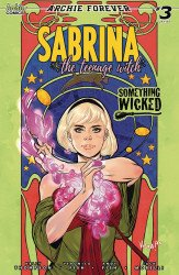 Archie Comics Group's Sabrina the Teenage Witch: Something Wicked Issue # 3c