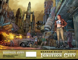 Avatar Press's Ignition City Issue # 1d
