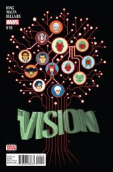 Marvel Comics's The Vision Issue # 10