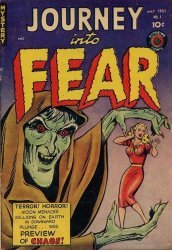 Superior Comics's Journey Into Fear Issue # 1