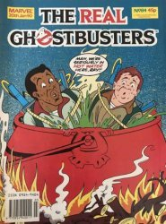 Marvel UK's The Real Ghostbusters Issue # 84