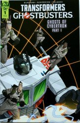 IDW Publishing's Transformers / Ghostbusters Issue # 1sdcc