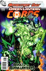 DC Comics's Green Lantern Corps Issue # 49