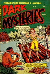 Master Publications's Dark Mysteries Issue # 9